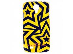 Чехол ARU для Samsung Galaxy S4 Stars Yellow