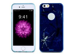 Чехол Remax для iPhone 6/6S Engarved McQueen blue