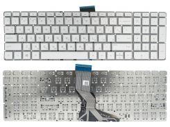 Клавиатура HP Pavilion 15-ab 15-ak 15-ar 15-aw 15-bc 15-bk 17-ab Envy m6-ar 15-bs 15-ra 250 G6, серебристая без рамки, Прямой Enter