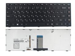 Клавиатура Lenovo IdeaPad G40-30 G40-45 G40-70 G40-75 Z40-70 Z40-75 Flex 2-14, черная, подсветка, Оригинал (25215661)