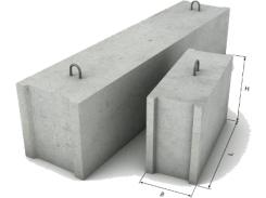 Фундаментный блок ФБС 9.6.6