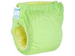 Подгузник трикотажный Easy Size Premium 7-13, со вкладышем Abso Maxi (зеленый), Эко Пупс
