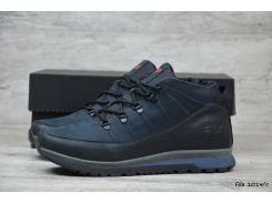 Мужские кожаные зимние ботинки Fila  (Реплика)