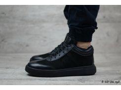 Мужские кожаные ботинки Philipp Plein  (Реплика)