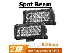 Автофара LED (12 LED) 5D-36W-SPOT