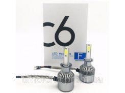 Лампа автомобильная C6 H1