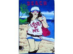 Полотенце пляжное Women
