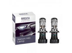Ксеноновая лампа Brevia H4 4300K 35W 85V Bi-Xenon 12443 (2шт.)