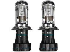 Ксеноновая лампа Brevia Max Power +50% H4 5500K 85V 35W P43t-38 12450MP (2шт.)