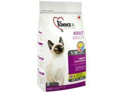 Сухой корм для взрослых привередливых котов 1st Choice Adult Finicky со вкусом курицы 5.44 кг
