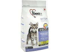 Сухой корм для котят 1st Choice Kitten со вкусом курицы 2.72 кг