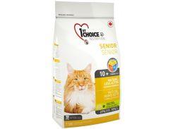 Сухой корм для пожилых котов 1st Choice Senior со вкусом курицы 5.44 кг