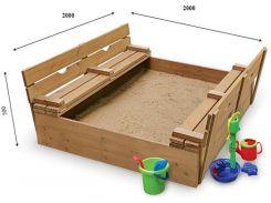 Детская песочница с крышкой SportBaby Песочница - 31