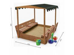 Песочница деревянная SportBaby Песочница - 4