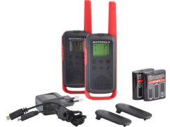 Рация Motorola Talkabout T62 Red Twin Pack & Chgr We