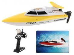 Катер на р/у Fei Lun Racing Boat FT007 2.4GHz (желтый) (FL-FT007y)
