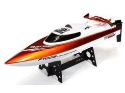 Катер на р/у Fei Lun High Speed Boat FT009 2.4GHz (оранжевый) (FL-FT009o)
