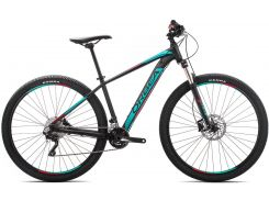 Orbea Mx 29 20 19 M Black - Turquoise - Red (J21017R3)