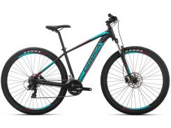 Orbea Mx 27 60 19 S Black - Turquoise - Red (J20015R3)