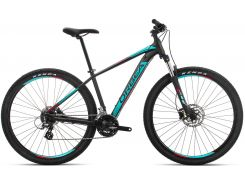 Orbea Mx 27 50 19 M Black - Turquoise - Red (J20117R3)