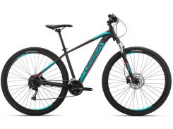 Orbea Mx 29 40 19 M Black - Turquoise - Red (J20817R3)