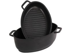Гусятница + сковорода Биол Г401П (4.0 л)