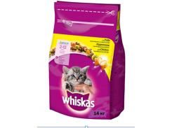 Сухой корм для котят Whiskas с курицей 14кг (5900951014369)