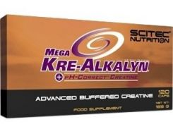 Scitec Nutrition Mega Kre-Alkalyn 120 caps