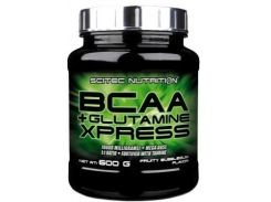 Scitec Nutrition BCAA+Glutamine Xpress 600 g /50 servings/ Lime