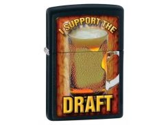 Зажигалка Zippo 218 I Support The Draft (28294)