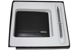 Подарочный набор Cross Slim Wallet & Agenda Pen Set (портмоне+ручка) (436B-1)