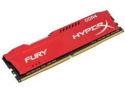 Kingston 16 Gb DDR4 2400 MHz HyperX Fury Red (HX424C15FR/16)