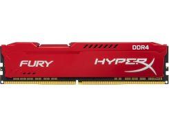 Kingston 16 Gb DDR4 2666 MHz HyperX Fury Red (HX426C16FR/16)