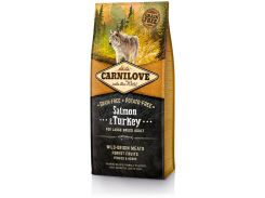 Сухой корм для взрослых собак крупных пород Carnilove Salmon & Turkey Large Breed 12 кг (8595602508945)