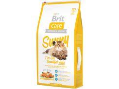 Сухой корм гипоалергенный для длинношерстных кошек Brit Care Sunny I have Beautiful Hair 7 кг (8595602505609)