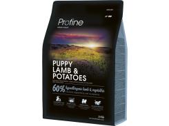 Сухой гипоаллергенный корм для щенков всех пород Profine Puppy Lamb с ягненком и картофелем 3 кг (8595602517527)