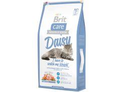 Сухой корм для кошек с избыточным весом Brit Care Daisy I have to control my Weight 7 кг (8595602505630)