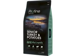 Сухой корм для собак пожилого возратса Profine Senior Turkey с индейкой и картофелем 15 кг (8595602517497)