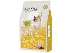 Сухой корм для взрослых котов Profine Cat Original Adult с курицей и рисом 10 кг (8595602517718)
