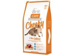 Сухой корм для кошек живущих на улице Brit Care Cheeky I am Living Outdoor 7 кг (8595602505661)