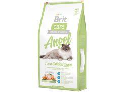 Сухой корм для пожилых кошек Brit Care Angel I am Delighted Senior 7 кг (8595602505784)