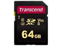 Transcend 64GB Sdhc Class 10 UHS-II U3 (TS64GSDC700S)