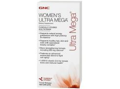 Gnc Women's Ultra Mega 180 caps
