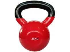 Гиря Spart виниловая 28 кг (DB2174-28Red)