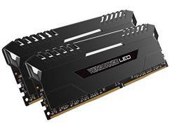 Corsair 16 Gb (2x8GB) DDR4 2666 MHz Vengeance White Led (CMU16GX4M2A2666C16)