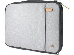 "Pkg Laptop Sleeve Light Grey (LS01-15-DRI-LGRY) for MacBook Pro 15"""