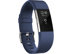 Fitbit Charge 2, Blue/Silver Large (ОЕМ, без коробки)