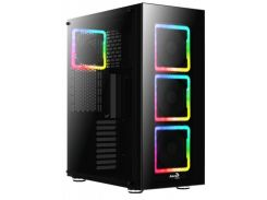 Aerocool Tor Pro Pgs Argb Tempered Glass Black (TOR Argb TG)