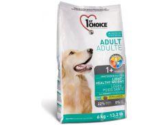 Сухой корм для взрослых собак всех пород с избыточным весом 1st Choice со вкусом курицы 6 кг