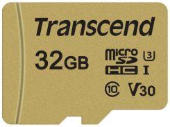 Transcend 32GB microSDHC Class 10 UHS-I U3 V30 (TS32GUSD500S)